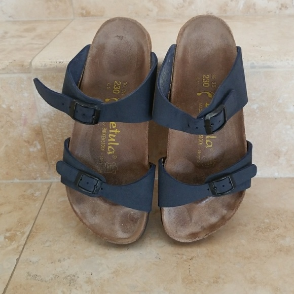 f7fab84e9a0b Birkenstock Shoes - Birki s Betula size 5 dark blue